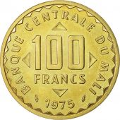 Monnaie, Mali, 100 Francs Essai, 1975, Paris, FDC, Nickel-brass, KM E2