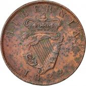 Coin, Ireland, Georges IV, Penny, 1822, EF(40-45), Copper, KM 151