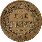 Coin, Australia, George V, Penny, 1915, London, EF(40-45), Bronze, KM 23