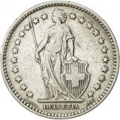 Coin, Switzerland, 2 Francs, 1901, Bern, EF(40-45), Silver, KM 21