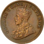 Coin, INDIA-BRITISH, George V, 1/4 Anna, 1916, Calcutta, EF(40-45), KM 512