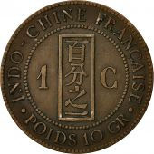 Monnaie, Indochine, Cent, 1887, Paris, TTB, Bronze, KM 1