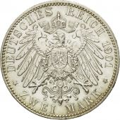 Coin, German States, PRUSSIA, Wilhelm II, 2 Mark, 1901, Berlin, MS(60-62)