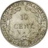 Monnaie, FRENCH INDO-CHINA, 10 Cents, 1929, Paris, SUP+, Argent, KM:16.1