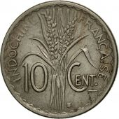 Monnaie, FRENCH INDO-CHINA, 10 Cents, 1941, TTB+, Copper-nickel, KM:21.1a