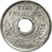 Monnaie, FRENCH INDO-CHINA, 5 Cents, 1943, Paris, SUP+, Aluminium, KM:27