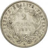 Coin, France, Cérès, 2 Francs, 1881, Paris, EF(40-45), Silver, KM:817.1