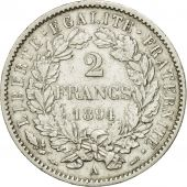 Coin, France, Cérès, 2 Francs, 1894, Paris, AU(50-53), Silver, KM:817.1