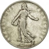 Coin, France, Semeuse, 2 Francs, 1909, Paris, EF(40-45), Silver, KM:845.1