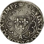 Coin, France, François Ier, Teston, 1541-1547, Paris, EF(40-45), Silver