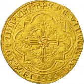Monnaie, France, Aquitaine, Edward III, Léopard dor, 1357, Bordeaux, SUP, Or