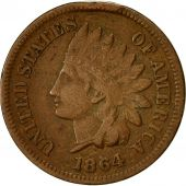 Monnaie, États-Unis, Indian Head Cent, Cent, 1864, U.S. Mint, Philadelphie