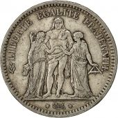 Coin, France, Hercule, 5 Francs, 1848, Lyons, EF(40-45), Silver, KM:756.3