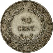 Monnaie, FRENCH INDO-CHINA, 20 Cents, 1928, Paris, TTB, Argent, KM:17.1