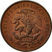 Coin, Mexico, 20 Centavos, 1966, Mexico City, AU(55-58), Bronze, KM:440