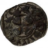 Coin, France, Chartres, Charles de Valois, Obol, 1270-1286, Chartres, VF(20-25)