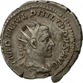 Coin, Philip I, Antoninianus, 244, Rome, AU(50-53), Billon, RIC:47