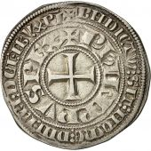 Coin, France, Philippe IV le Bel, Gros Tournois, 1290-1295, AU(50-53), Silver