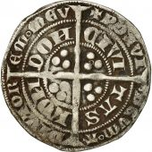 Monnaie, Angleterre, Edouard III, Gros, Londres, TB+, Argent, Spink 1570