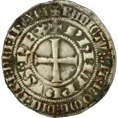Monnaie, France, Philippe III et Philippe IV, Gros Tournois, 1305, Argent