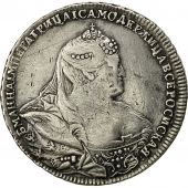 Coin, Russia, Anna, Rouble, 1740, Moscow, VF(30-35), Silver, KM 203