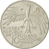 Coin, Germany, 10 Mark, Olympics, 1972, Munich, MS(63), Silver, KM 133