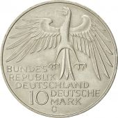 Coin, Germany, 10 Mark, Olympics, 1972, Karlsruhe, MS(63), Silver, KM 133