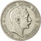 Coin, German States, PRUSSIA, Wilhelm II, 5 Mark, 1895 A, EF(40-45), KM 523