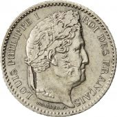 Coin, France, Louis-Philippe, 25 Centimes, 1846, Paris, MS(60-62), Silver