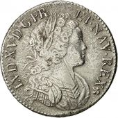 Coin, France, Louis XV, Écu de France-Navarre, 1718, Paris, EF(40-45), Gad. 318