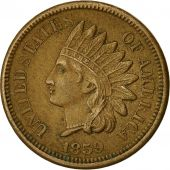 Monnaie, États-Unis, Indian Head Cent, 1859, Philadelphie, TTB+, KM 87
