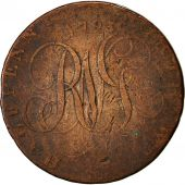 Coin, Great Britain, North Wales, Halfpenny Token, 1793, VF(30-35), Copper