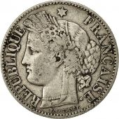 Coin, France, Cérès, 2 Francs, 1872, Bordeaux, EF(40-45), Silver, KM:817.2