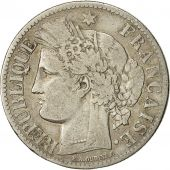 Coin, France, Cérès, 2 Francs, 1873, Paris, VF(30-35), Silver, KM:817.1