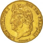 Coin, France, Louis-Philippe, 20 Francs, 1839, Lille, EF(40-45), Gold, KM:750.5