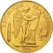 Coin, France, Génie, 100 Francs, 1905, Paris, AU(55-58), Gold, KM:832