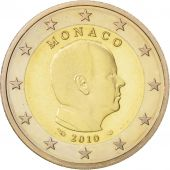 Monaco, 2 Euro, 2010, Bi-Metallic, Proof, KM:195