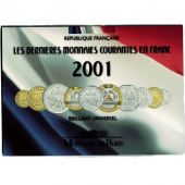 France, Set, 2001, MS, Bi-Metallic