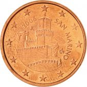 San Marino, 5 Euro Cent, 2006, Copper Plated Steel, KM:442