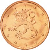 Finland, 5 Euro Cent, 2002, Copper Plated Steel, KM:100