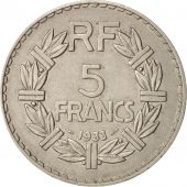 France, Lavrillier, 5 Francs, 1933, Paris, Nickel, KM:888, Gadoury:760, Le Fr...
