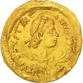 Justinian I, Tremissis, 527-565 AD, Constantinople, Or, Sear:145