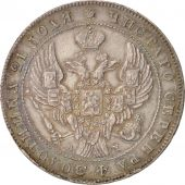 Russie, Rouble, 1842, St. Petersburg, Argent, KM:168.1