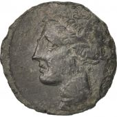 Zeugitanie, Carthage, Tanit, Bronze Unit, Sear:6444