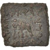 Baktria, Heliokles II, Quadruple Unit, 90-75 BC, Bronze, SNG ANS:1152