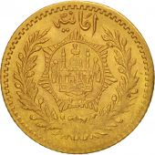 Afghanistan, Amanullah, 1/2 Amani, 5 Rupees, 1920, Afghanistan, Or, KM:886