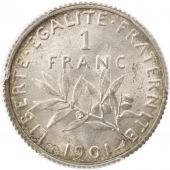 France, Semeuse, Franc, 1901, Paris, PCGS, MS64, Argent, KM:844.1