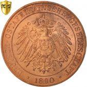 GERMAN EAST AFRICA, Wihelm II, Pesa, 1890, PCGS, MS64RB, Cuivre, KM:1