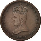 Haiti, 6-1/4 Centimes, 1850, Copper, KM:38