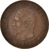 France, Napoleon III, 2 Centimes, 1854, Bordeaux, KM:776.5